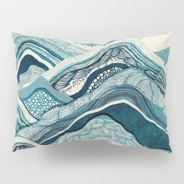 Blue Hike Pillow Sham