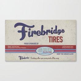 SRC Preparations Firebridge Vintage Poster No2 Canvas Print
