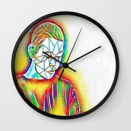 Colorful Sadness Wall Clock