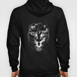 XII. The Hangman Tarot Card Illustration Hoody