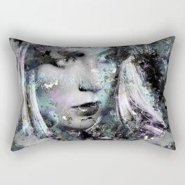 Abstract Digital Art Composition Rectangular Pillow