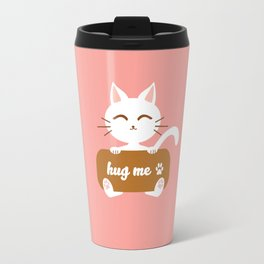 Hug Me Nyanko Travel Mug