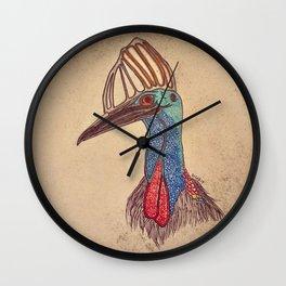 Cassowary Wall Clock