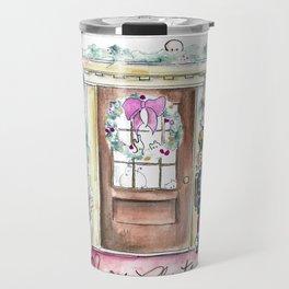 Our Festive Front Porch Travel Mug