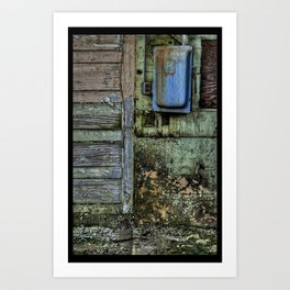 Painted Door II Art Print