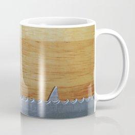 Shark infested breadboard Coffee Mug