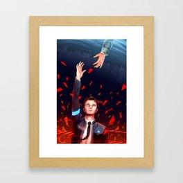 Connor: Become Deviant Framed Art Print