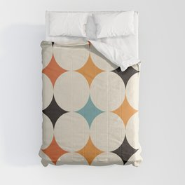Art print mid century modern, mid century modern art, mid century modern decor, prints, abstract art Comforters