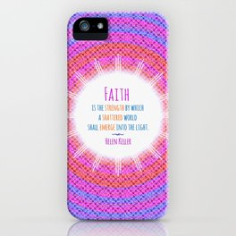 Emerge into the Light iPhone Case