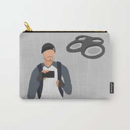 Tim Pool - Minimalist Character Design Carry-All Pouch