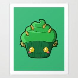 Spooky Cupcake - Swamp Thing Art Print