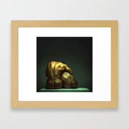 Beast Love Framed Art Print