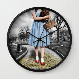 Creepy Dorothy of Oz Wall Clock