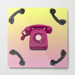 Telephony Metal Print