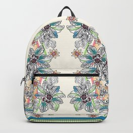 Wire Floral Backpack