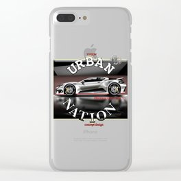 Sport Car concept - Accessories & Lifestyle Clear iPhone Case