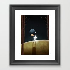 The Night Framed Art Print