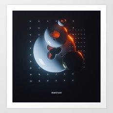 170208 / ME:tron Art Print