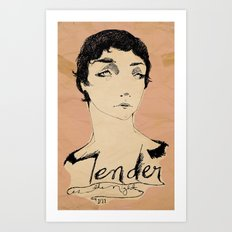 Tender is the Night Art Print