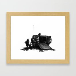 Combat Medic Framed Art Print
