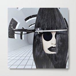 Cosmic haircut Metal Print