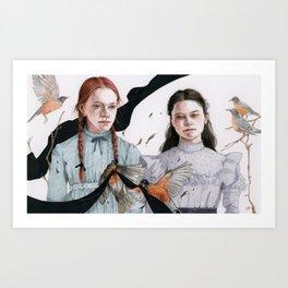 Kindred Spirits Art Print