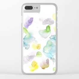 170722 Colour Loving 3 |Modern Watercolor Art | Abstract Watercolors Clear iPhone Case