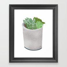 Cactus Plant II Framed Art Print