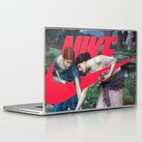 nike Laptop & iPad Skins featuring Victoria Nike Women by CHESSOrdinary