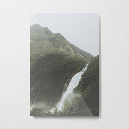 New Zealand Metal Print