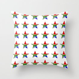 flag south africa 6,African,Afrikaans,Mandela,apartheid, Johannesburg,Soweto,Pretoria,Durban,Tembisa Throw Pillow