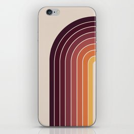 Gradient Arch - Sunset iPhone Skin