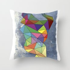 Skygonal Throw Pillow