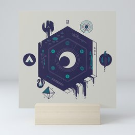 Crescent Mini Art Print