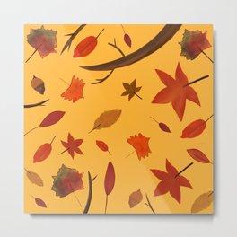 Fall in the Air Metal Print