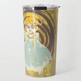 Golden Hero Travel Mug