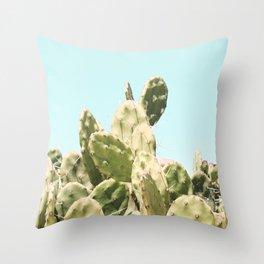 Cactus Summer Throw Pillow