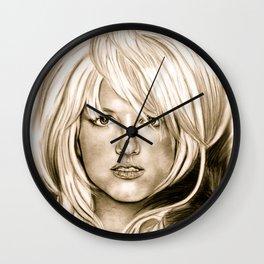 Brit in Antique Wall Clock