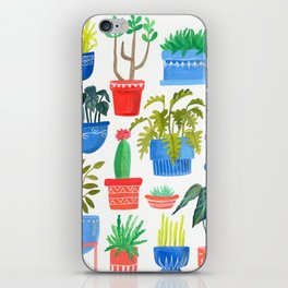 House Plants iPhone Skin