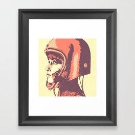 B. S. O. Framed Art Print