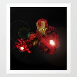 Ironman MK1  Art Print