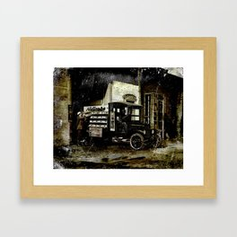 NuGrape Delivery Truck Framed Art Print