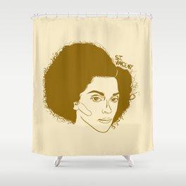 ST. VINCENT Shower Curtain