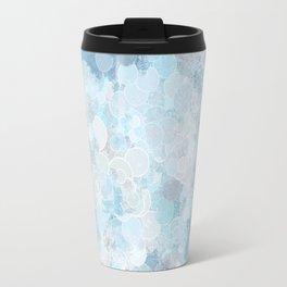 Graffiti dream - blue and nude Travel Mug