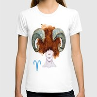 aries T-shirts featuring Aries by Aloke Design