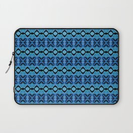 Lines in syphony blue Laptop Sleeve
