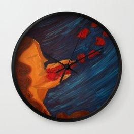 The Dark Lady Wall Clock