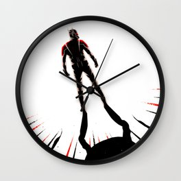 ant hero Wall Clock