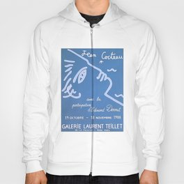 Jean Cocteau Exhibition Poster Hoody