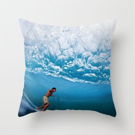 Robert Hennissy Puerto Escondido Mexico Throw Pillow